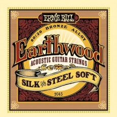Ernie Ball 2045 - Earthwood Silk & Steel Soft