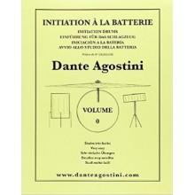 Agostini Initiaton à la Batterie Volume 0