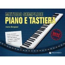 Borgazzi METODO SEMPLICE PER PIANO E TASTIERA