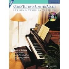 CORSO TUTTO IN UNO PER ADULTI PIANOFORTE + CD VOL1