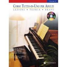 CORSO TUTTO IN UNO PER ADULTI PIANOFORTE + CD VOL2