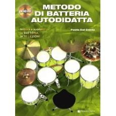 Dal Conte METODO DI BATTERIA AUTODIDATTA + CD