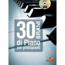 30 Brani di Piano per Principianti + CD