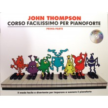 Thompson Corso facilissimo per Pianof.1 + CD