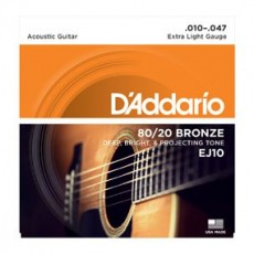 D'Addario EJ10 Set  10-47