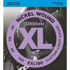 D'Addario EXL190 40-100