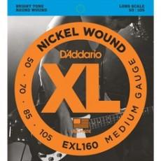 D'Addario EXL160 50-105