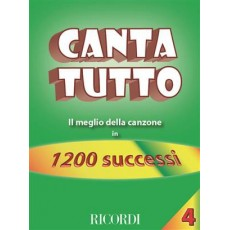 Cantatutto 1200 Successi Vol.4