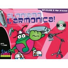 Suoniamo l'Armonica LIBRO+ CD