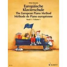 Emonts -Europaische Klavierschule 1