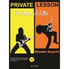 Begotti - Private Lesson - Rhythm & Lead + CD