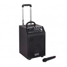 DJ Tech PA System a batteria e trolley