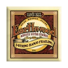 Ernie Ball 2061-Earthwood 5-String Banjo Frailing