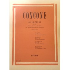 Concone 40 Lezioni Op. 17