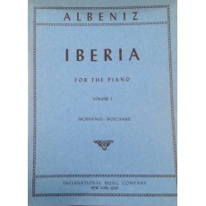 Albeniz Iberia per pianoforte vol. 1