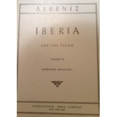 Albeniz Iberia per pianoforte vol. 3