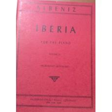 Albeniz Iberia per pianoforte vol. 4