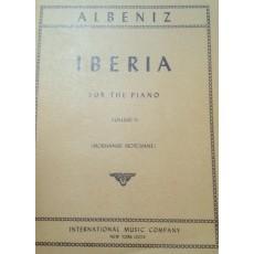 Albeniz Iberia per pianoforte vol. 2