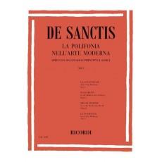 De Sanctis La polifonia nell'arte moderna