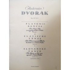 Antonin Dvorak Slavonic dances piano solo