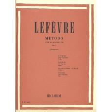 Lefèvre Metodo per Clarinetto Vol 1