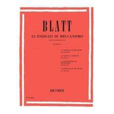 Blatt 24 Esercizi di Meccanismo