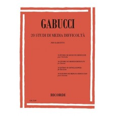 Gabucci 20 Studi di media difficoltà