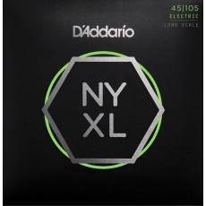 D'Addario Set Long Scale, Light Top / Med Bottom, 45-105
