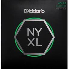 D'Addario Set Long Scale, Super Light, 40-95