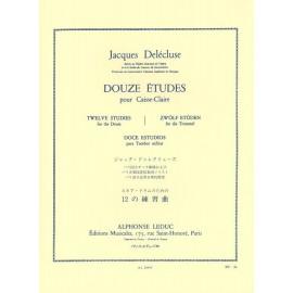 Delecluse -Etudes(12) Kleine Trommel