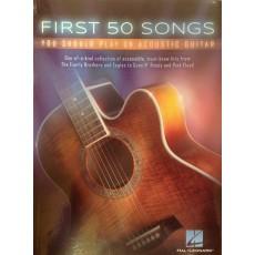 A.Vari - First 50 Songs - per chitarra acustica