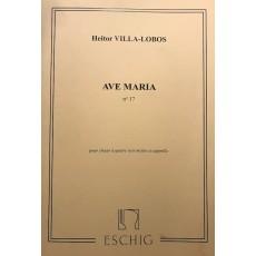 Heitor Villa-Lobos Ave Maria N 17