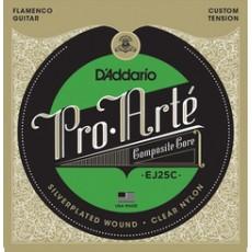 D'Addario EJ25C set Flamenco