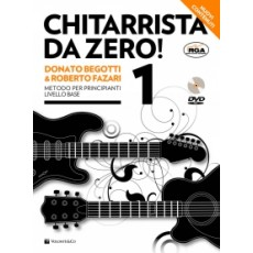 Begotti - Fazari Chitarrista da Zero! 1 (con DVD)