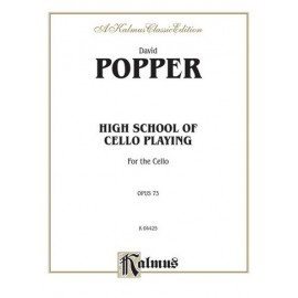 Popper -HIGH SCHOOL CELLO OP73