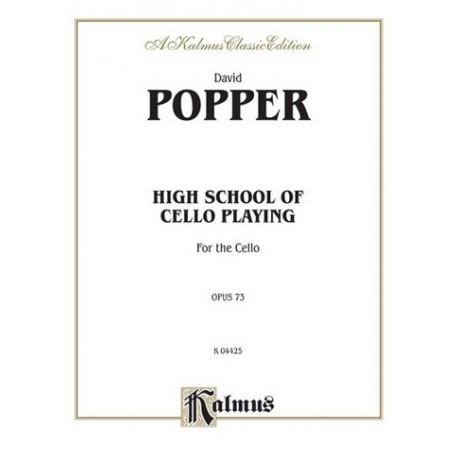 Popper -HIGH SCHOOL CELLO OP73