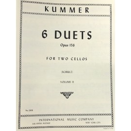 Kummer - 6 Duets op.156 vol 2