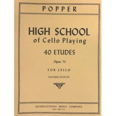 Popper -40 Studies - High School of Cello playing op 73