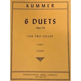 Kummer - 6 Duets op.156 Vol.1