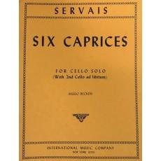 Servais - Capricci (6) Op. 11 (Ii Vc Ad Lib.)