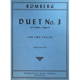 Romberg - Duet No 3 In E Minor Opus 9