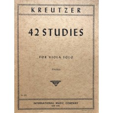 Kreutzer - 42 Studies