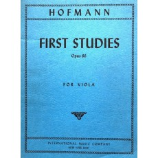 Hofmann - First Studies Op 86