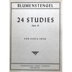 Blumenstengel -  24 Studies Op 33