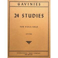 Gavinies - 24 Studies