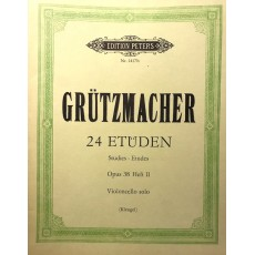 Grützmacher - 24 Studies Op.38 Vol.2