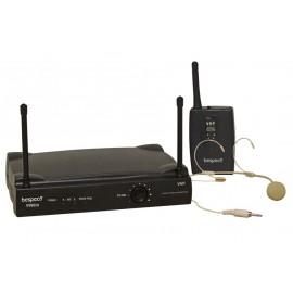 Bespeco GM805H Radiomicrofono Headset VHF.