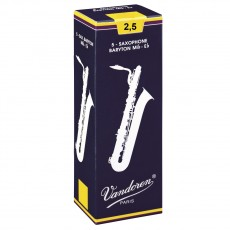 VANDOREN SR2425  Ance  Sax Baritono in Mib 2,5 Traditional