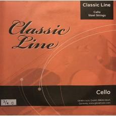 Gewa Muta Cello 3/4 Classic Line