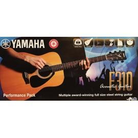 Yamaha F310P2WS Guitar Pack